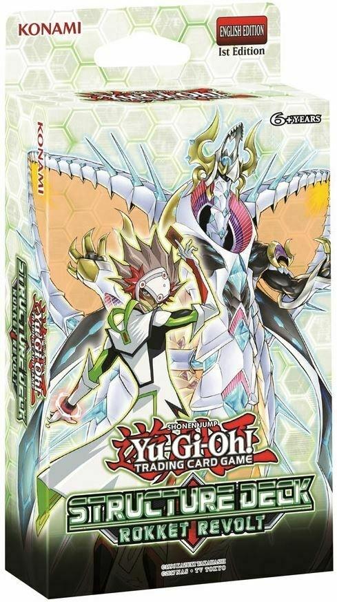 Yu-Gi-Oh! TCG - Structure Deck: Rokket Revolt
