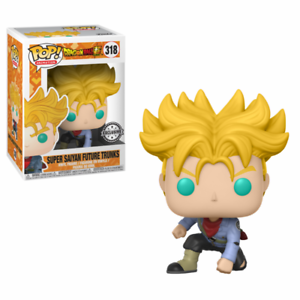 POP! Vinyl: Dragon Ball Super: Super Saiyan Future Trunks