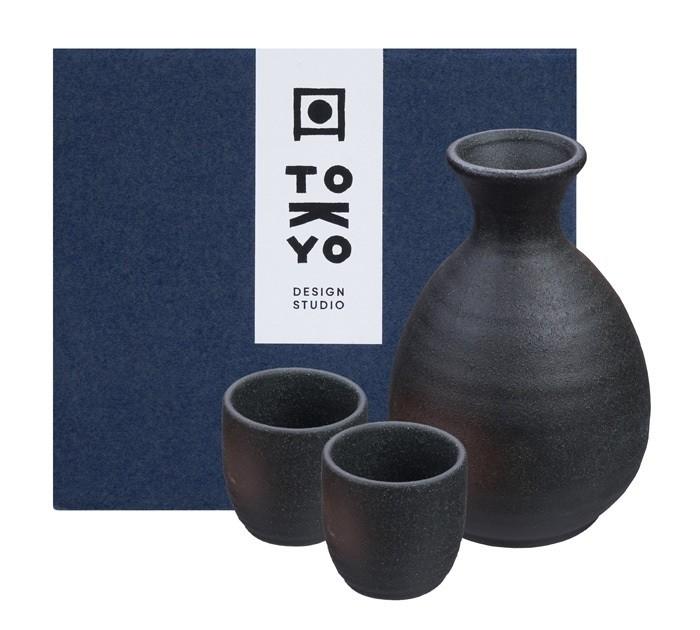 Sake Set 1:2 Set Bizenbuki