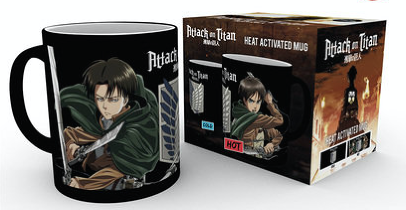 Attack on Titan  - Mug 300 ml / 10 oz - Heat Mugs Scouts