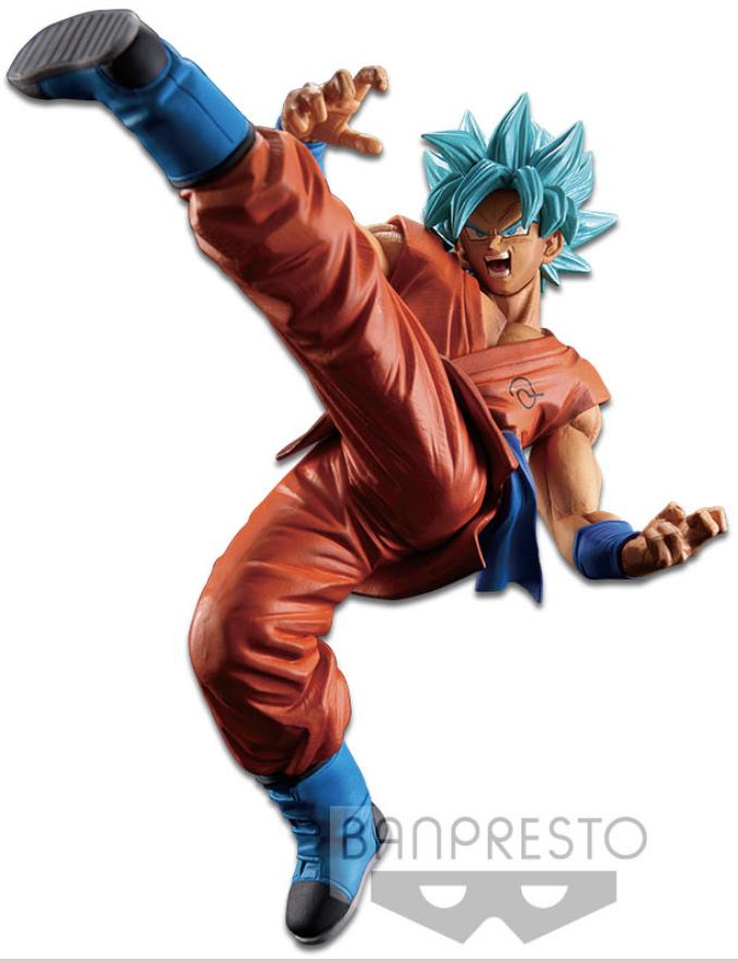Dragon Ball Super Figure Son Goku Fes!! Special Version Super Saiyan God Super Saiyan Son Goku