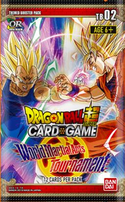 Dragon Ball Super TCG: World Martial Arts Booster Tournament Pack