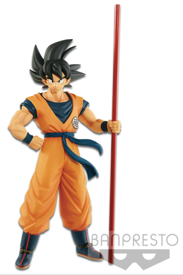Dragon Ball Super Movie Figure Son Goku The 20th Film Limited