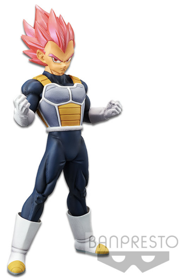 Dragon Ball Super Movie Figure Cyokoku Buyuden Super Saiyan God Vegeta
