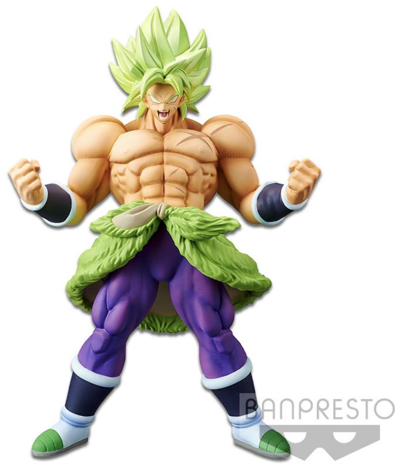 Dragon Ball Super Movie Figure Cyokoku Buyuden Super Saiyan Broly Full Power