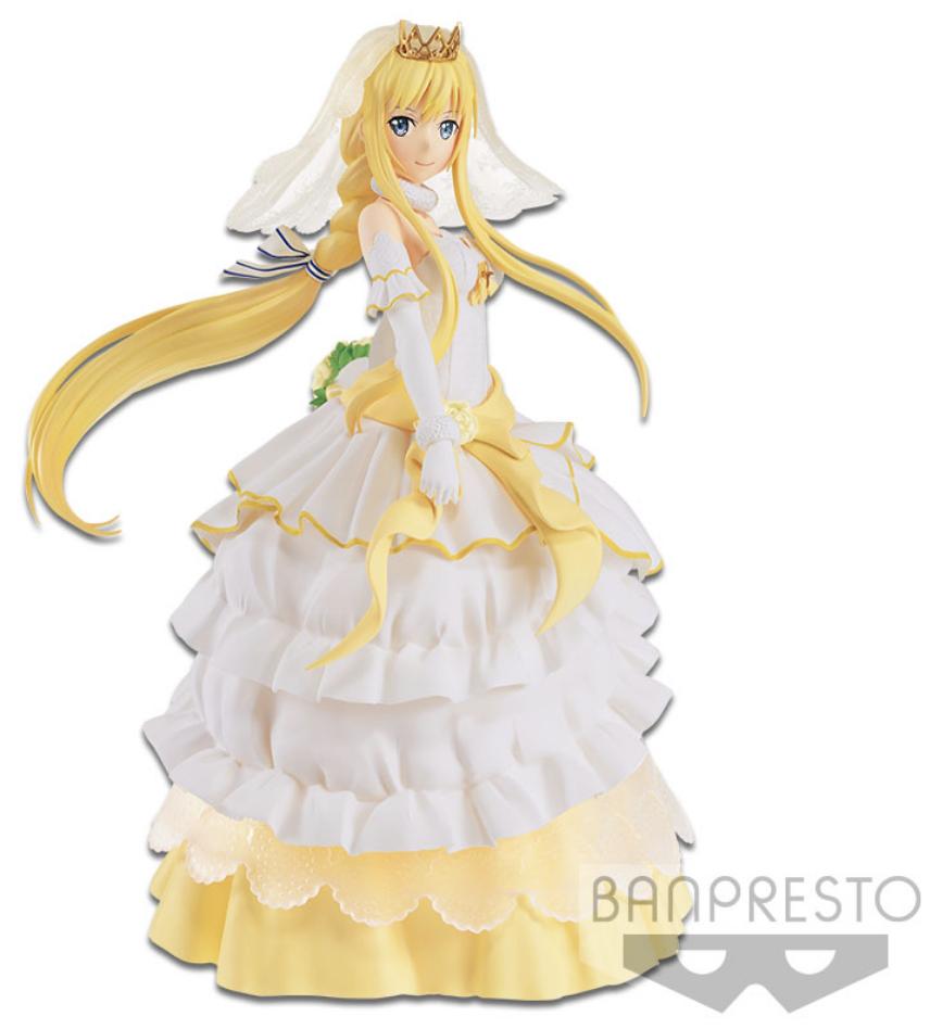 Sword Art Online Figure Code Register EXQ Figure Wedding Alice