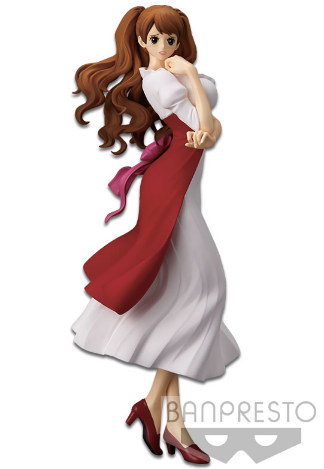 One Piece Figure Glitter & Glamours Charlotte Pudding Red