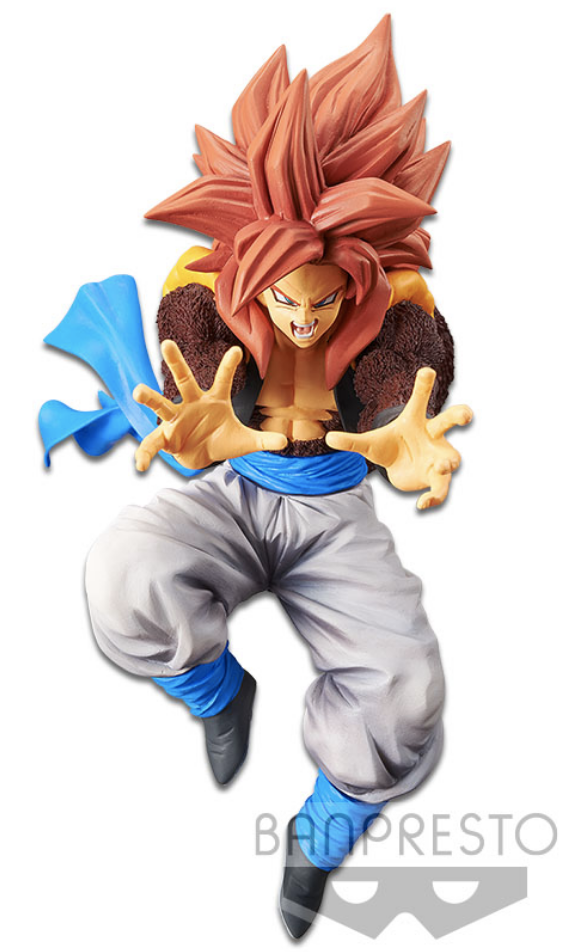 Dragon Ball GT Figure Ultimate Fusion Big Bang KA-ME-HA-ME-HA Super Saiyan 4 Gogeta