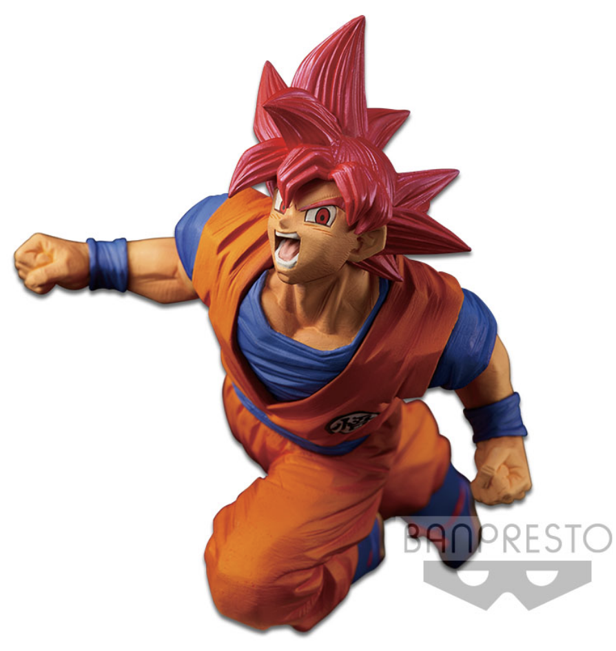 Dragon Ball Super Figure Son Goku Fes!! Vol.9 Super Saiyan God Son Goku