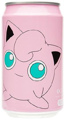 Pokemon YHB Ocean Bomb Jigglypuff Peaches Flavour Soda