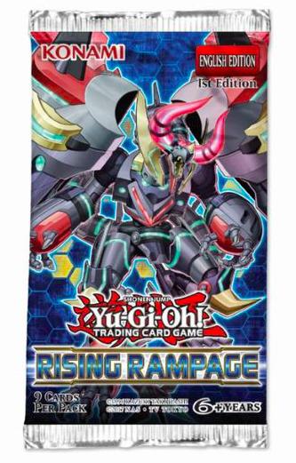 Yu-Gi-Oh! TCG - Rising Rampage Booster Pack