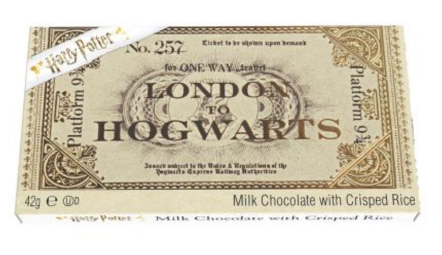 Harry Potter Platform 9¾ Milk Chocolate Ticket