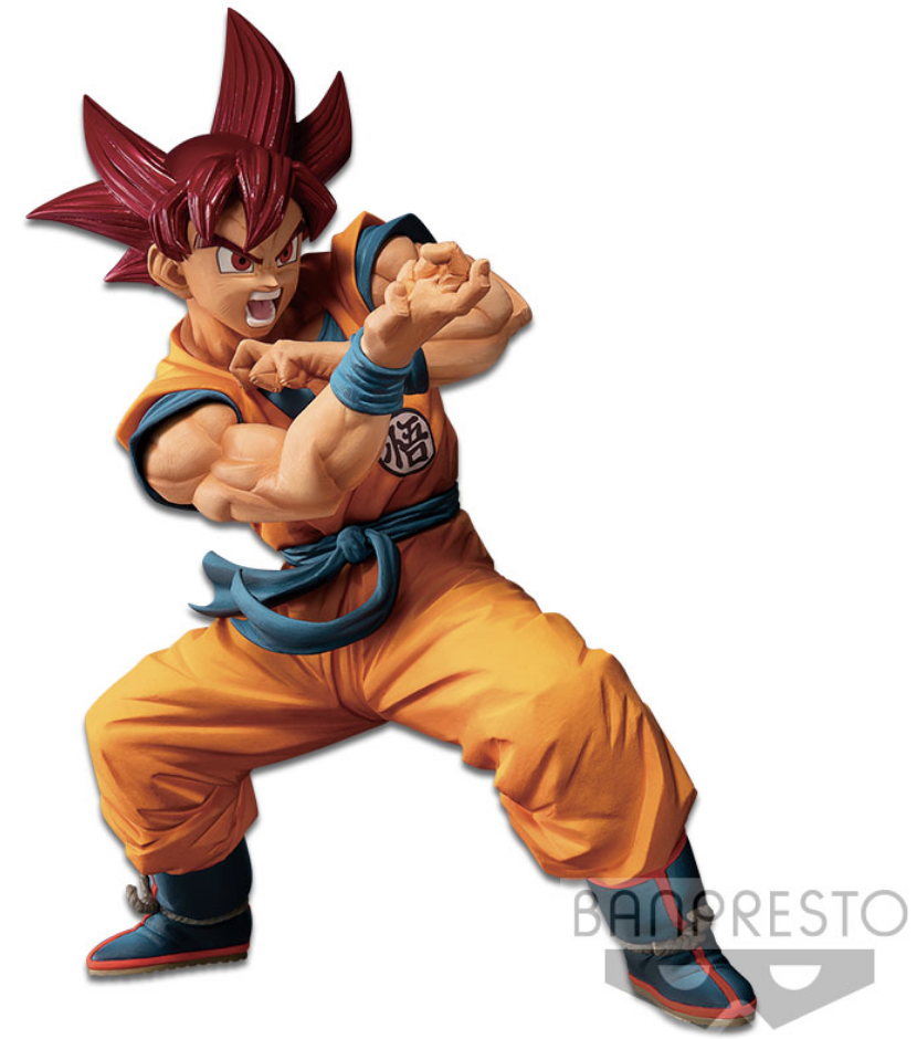 Dragon Ball Super Figure Blood of Saiyans Special IV Super Saiyan God Son Goku