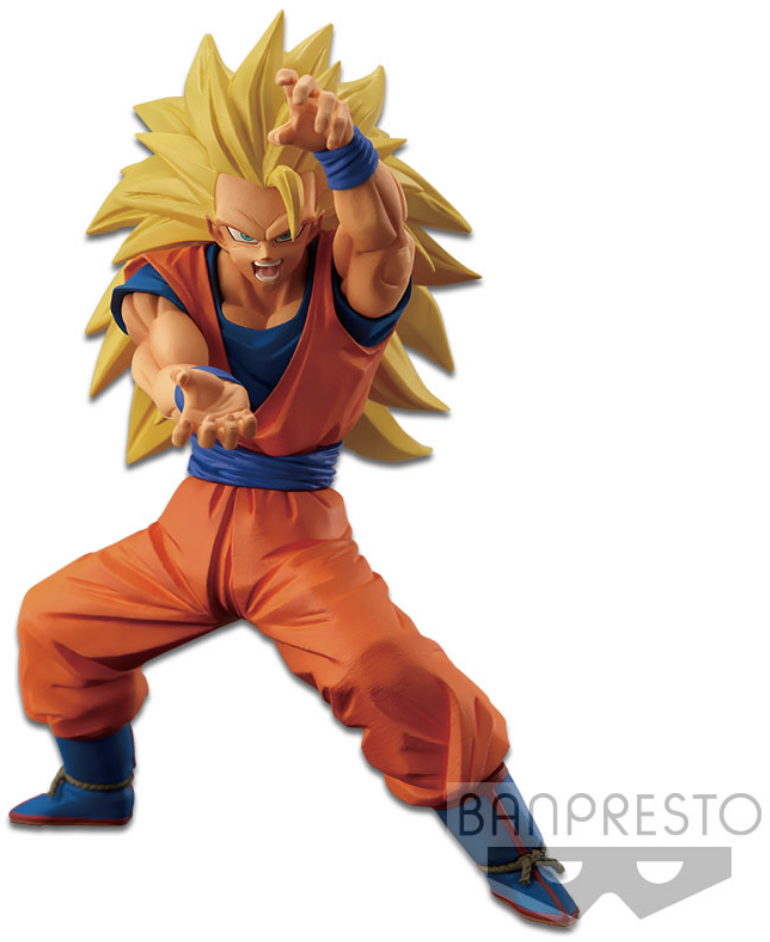 Dragon Ball Z Figure Chosenshiretsuden Vol. 4 Super Saiyan 3 Son Goku