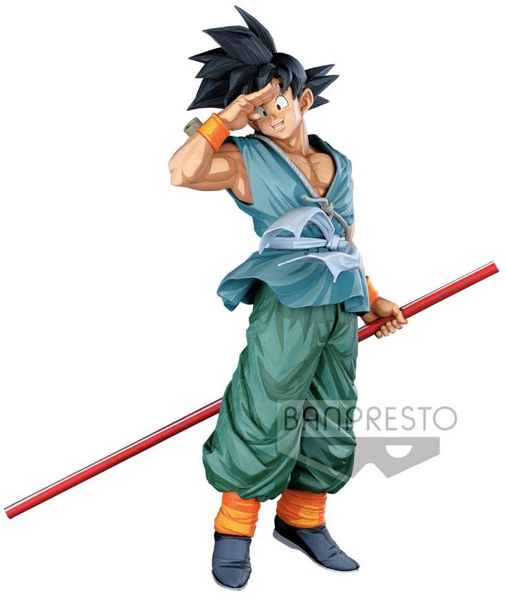 Dragon Ball Super Figure Super Master Stars Piece Grandista Manga Dimensions The Son Goku