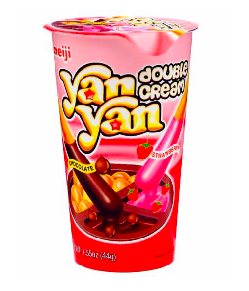 Meiji - Yan Yan Double Cream Dip Biscuit