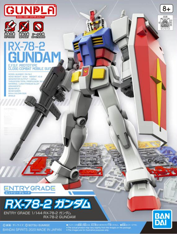 EG RX-78-2 GUNDAM 1/144 - GUNPLA