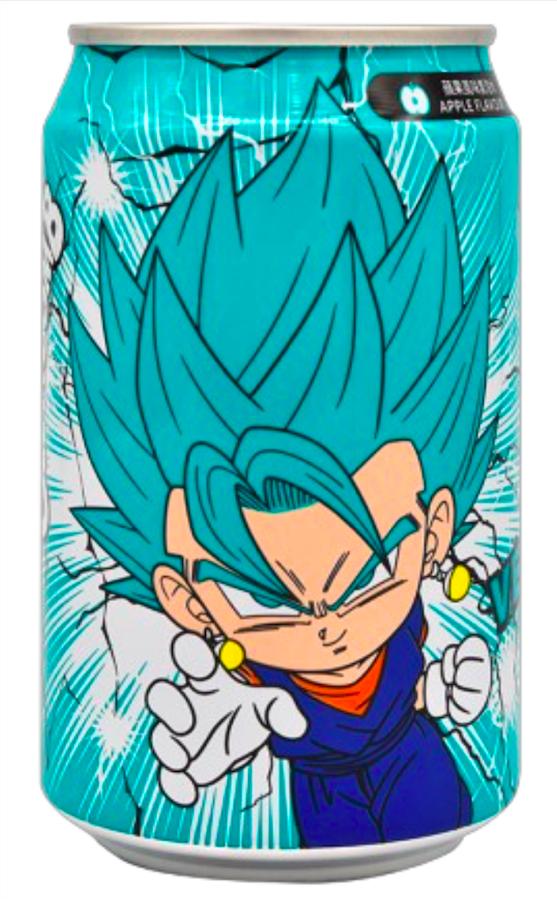 Dragon Ball Super YHB Ocean Bomb Super Saiyan Blue Vegito Apple Flavour Soda