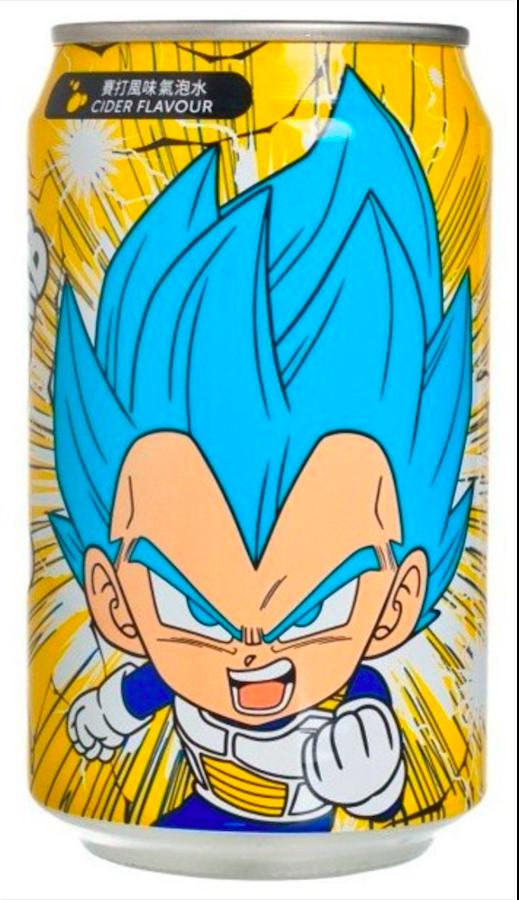 Dragon Ball Super YHB Ocean Bomb Super Saiyan Blue Vegeta Cider Flavour Soda