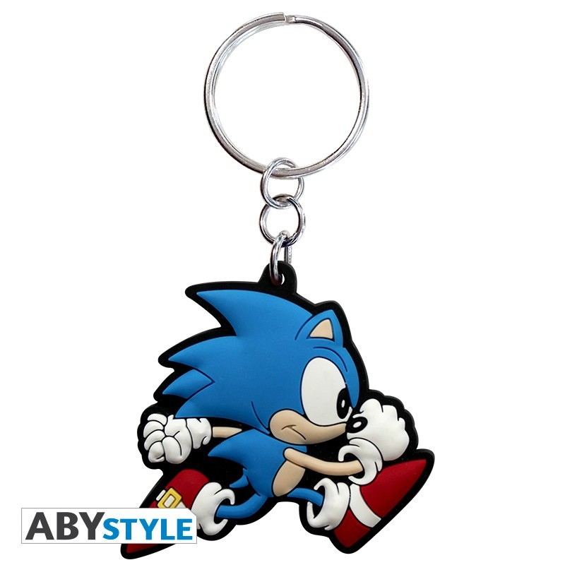 "SONIC - Keychain PVC ""Sonic run"""