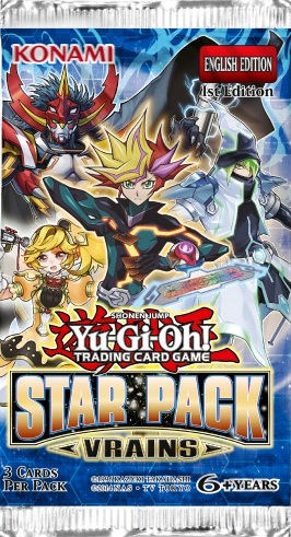 Yu-Gi-Oh! TCG - Star Pack - Vrains Booster Pack