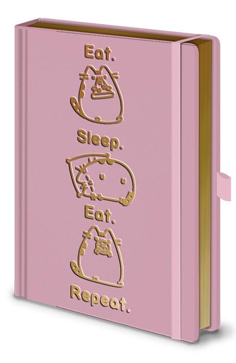 Pusheen (Eat. Sleep. Eat. Repeat.) Premium A5 Notebook