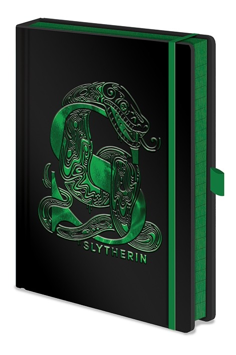 Harry Potter - Premium A5 Notebook Slytherin Foil