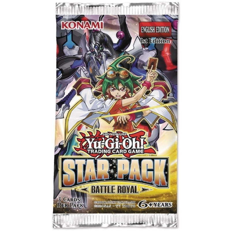 Yu-Gi-Oh! TCG - Star Pack Battle Royal Booster Pack