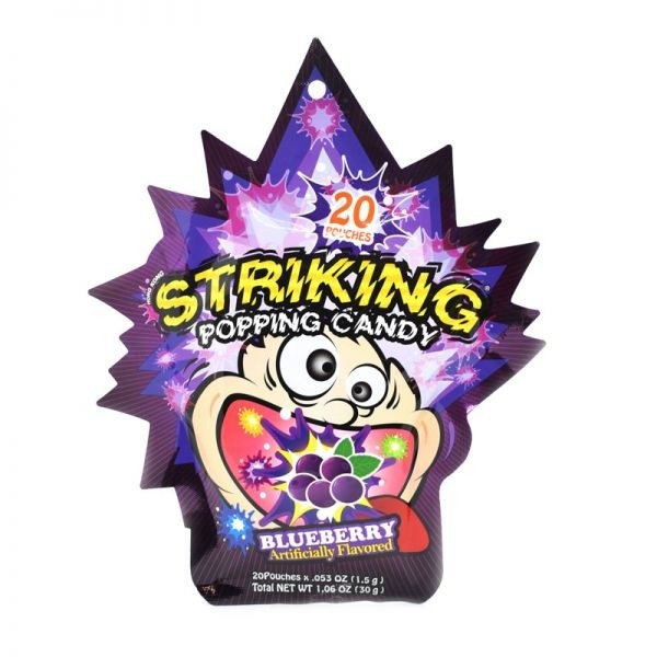 Striking Popping Candy Blueberry