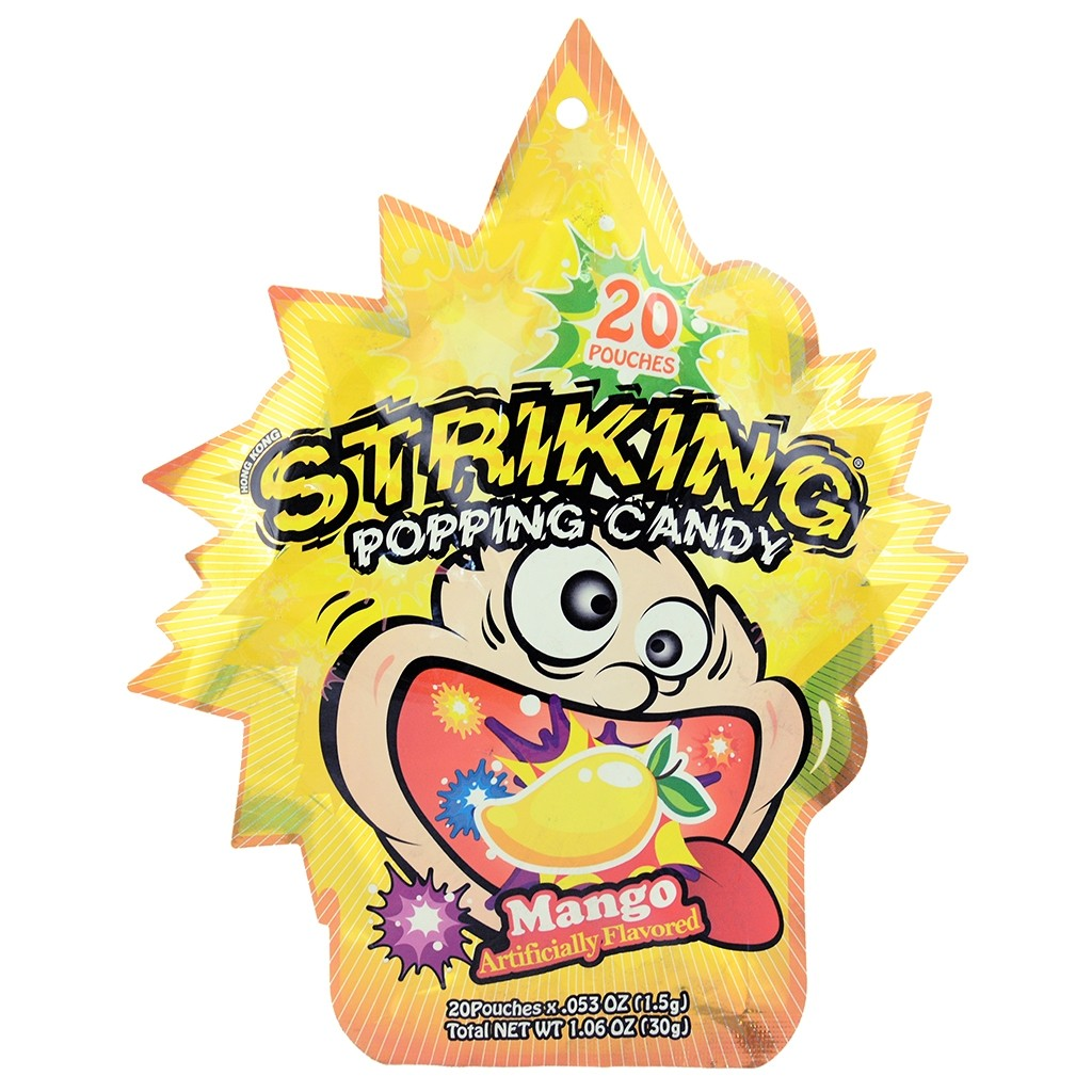 Striking Popping Candy Mango