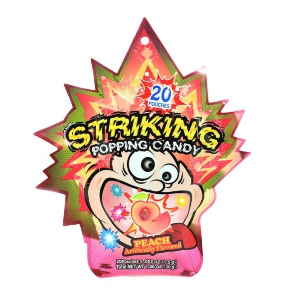 Striking Popping Candy Peach