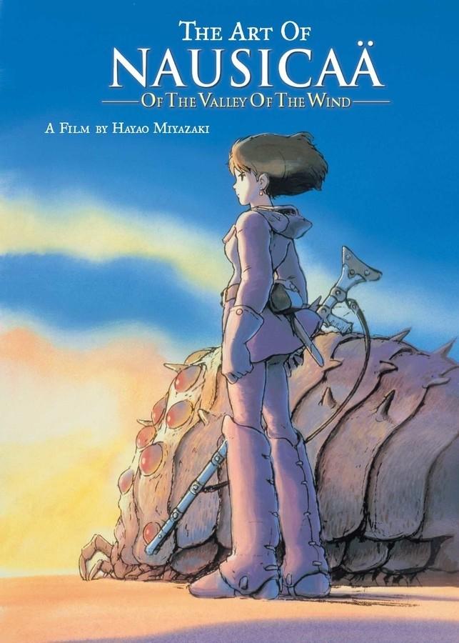 The Art of Nausicaa Valley of the Wind by Hayao Miyazaki