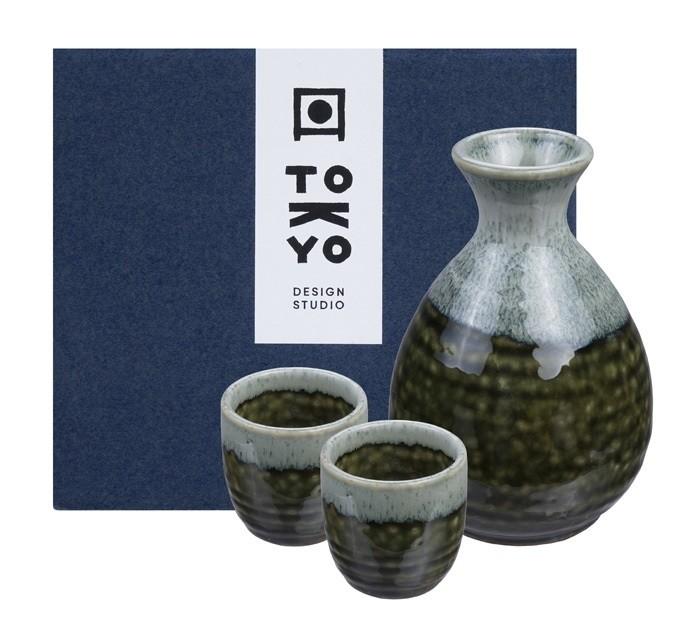 Sake Set 1:2 Oribe Irabo