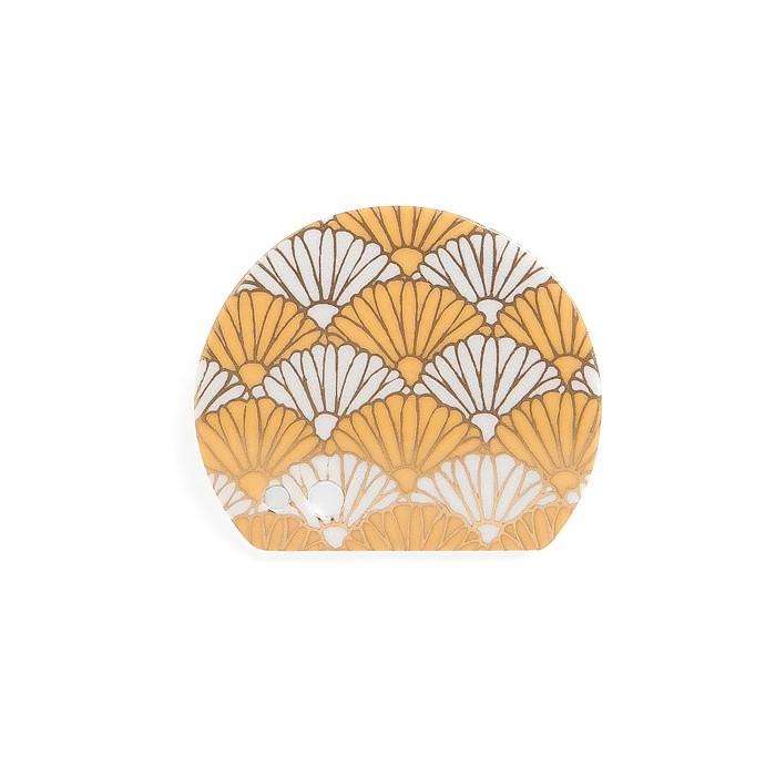 Shoyeido - Incense Holder - Yellow Wave
