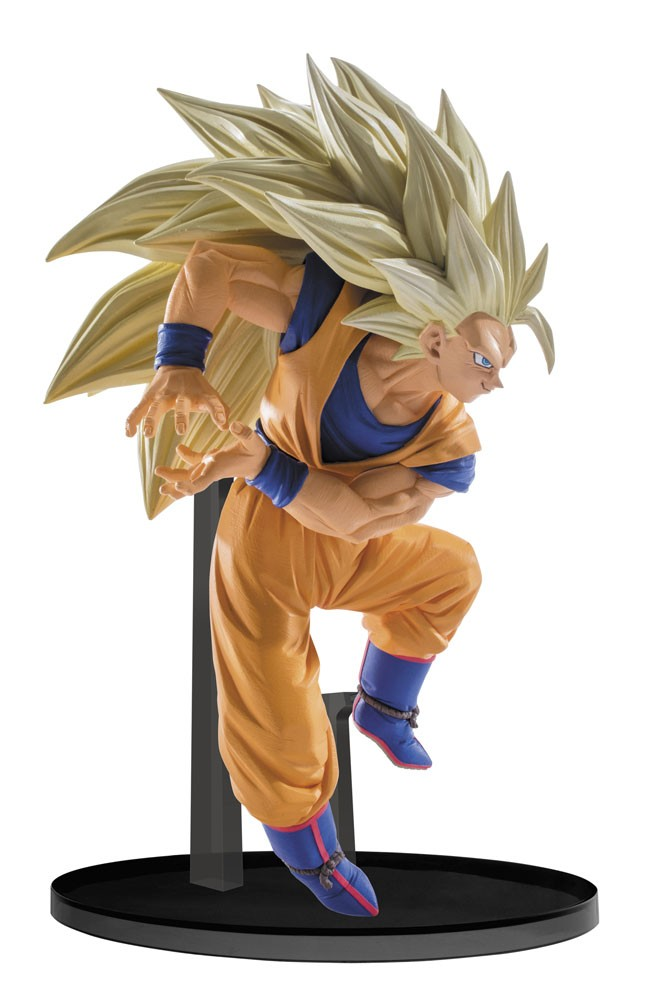 "Dragon Ball Z ""Super Scultures"" Figure Big Budôkai 6 vol. 6 Super Saiyan 3 Goku"
