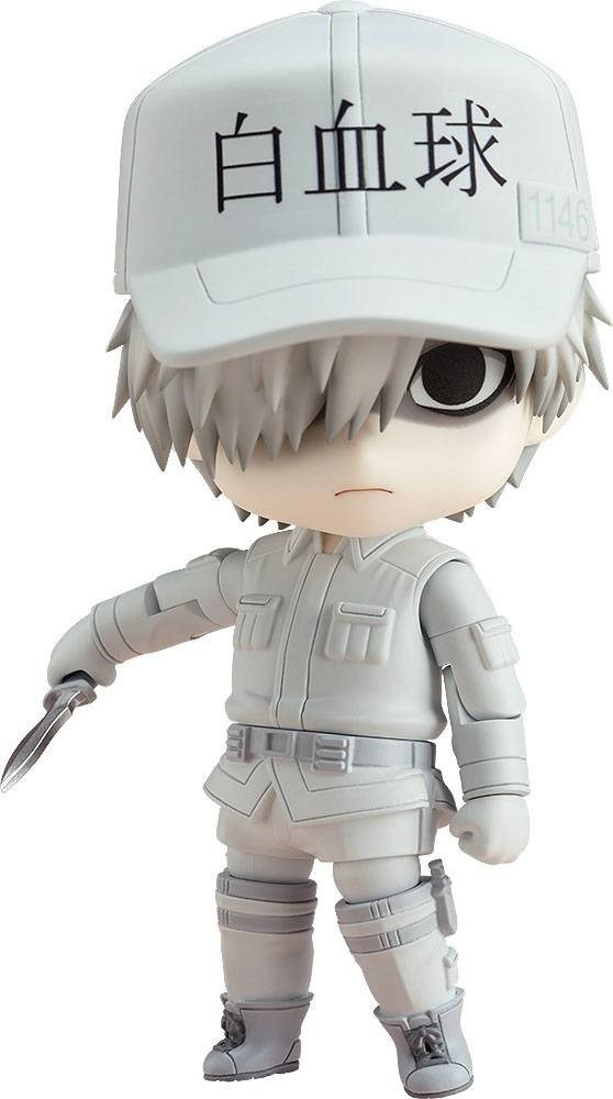 Cells at Work! Nendoroid Action Figure White Blood Cell