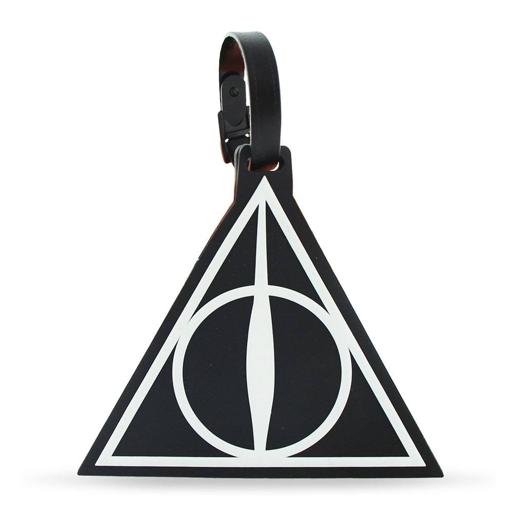 Harry Potter Rubber Luggage Tag Deathly Hallows New Ver.
