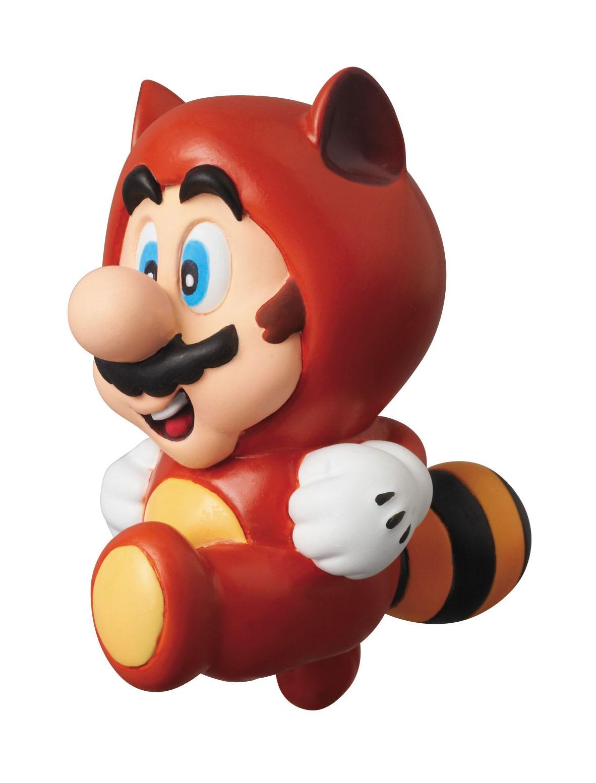 Nintendo - UDF Series 1 Mini Figure - Tanuki Mario (Super Mario Bros. 3) 6 cm