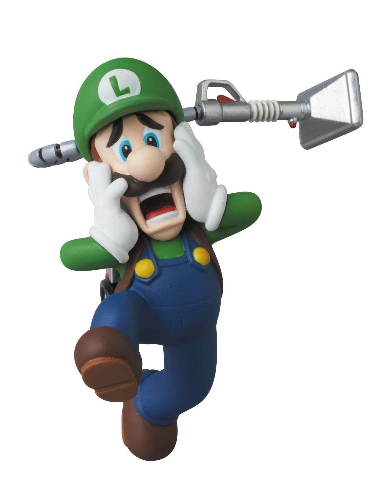 Nintendo - UDF Series 2 Mini Figure - Luigi (Luigi's Mansion 2) 6 cm