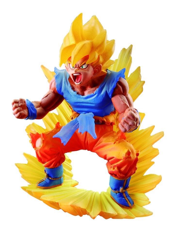 """Dragon Ball Z """"Super Dracap Memorial"""" 02 - Son Goku Super Saiyan - 10 cm"""