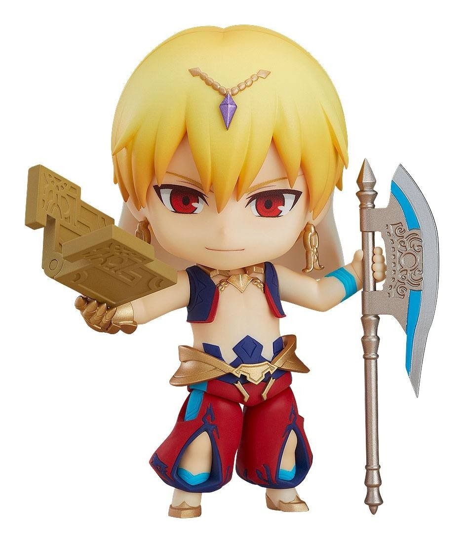 Fate/Grand Order Nendoroid Action Figure - Caster / Gilgamesh