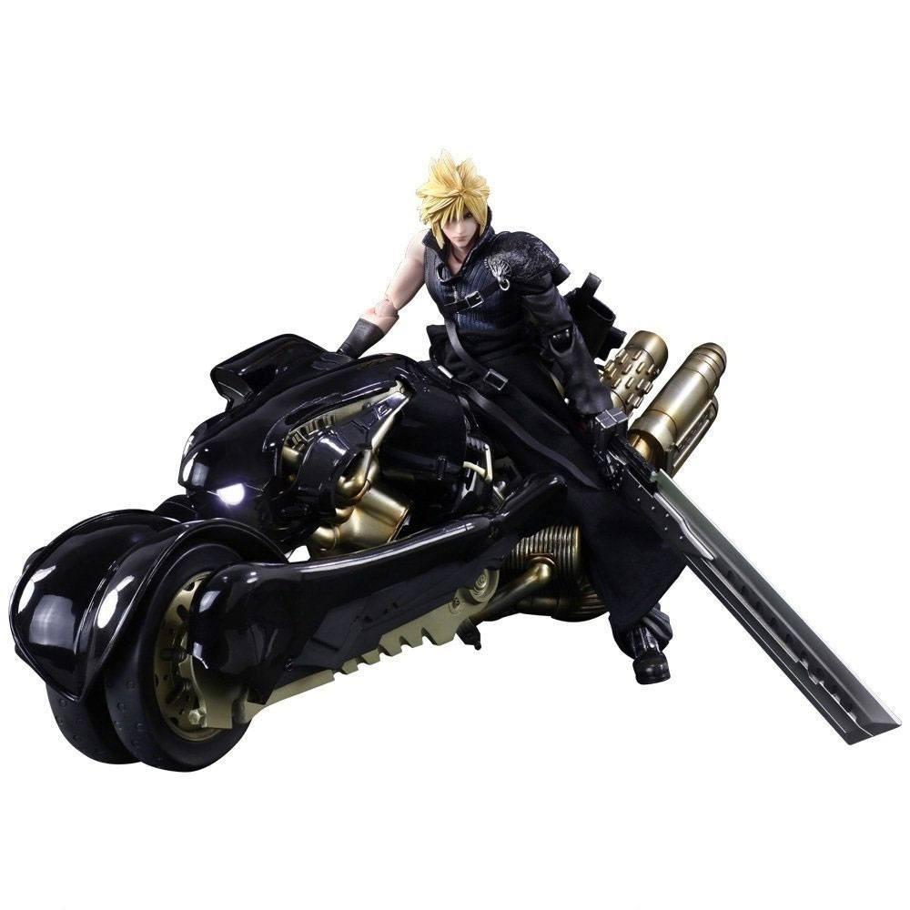 Final Fantasy VII: Advent Children Play Arts Kai Action Figure Cloud Strife & Fenrir