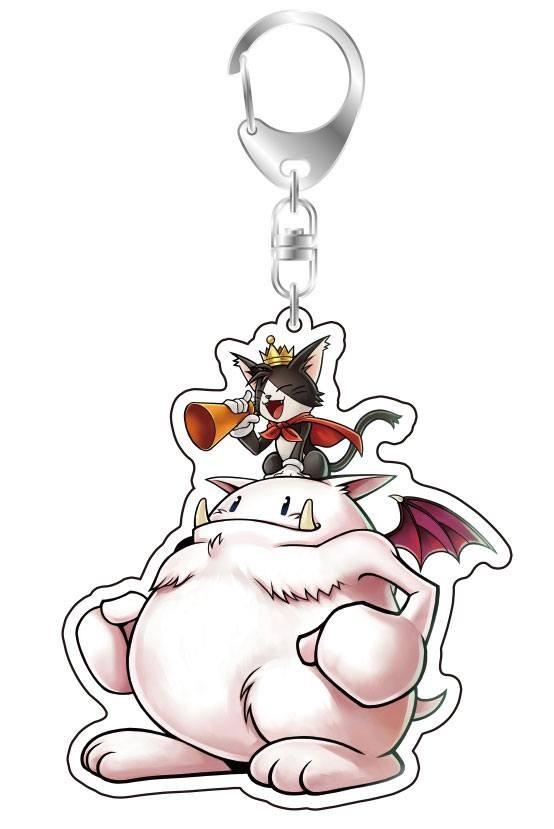 Dissidia Final Fantasy Acrylic Keychain - Cait Sith