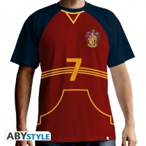 "T-SHIRT Harry Potter ""Quidditch Jersey"" Medium"