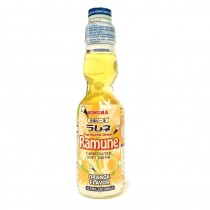Ramune Pop Drink Orange Flavour 200ml