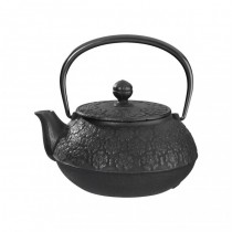 Sakura Black Cast Iron Teapot 0.55L