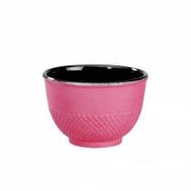 Cup -  Arare Silver Fuchsia - Cast Iron
