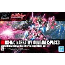 HGUC NARRATIVE GUNDAM C-PACKS 1/144 - GUNPLA