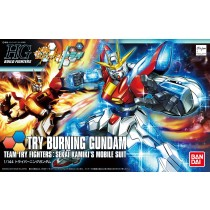 HGBF TRY BURNING GUNDAM 1/144 - GUNPLA
