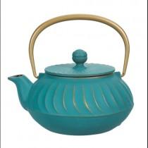 Nami Blue Cast Iron Teapot 0.65L